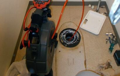 トイレ排水管のつまり解消修理
