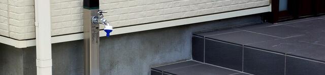 埼玉県で屋外に水道蛇口を取り付ける工事と水栓柱の設置工事