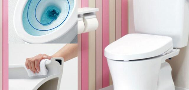 TOTOトイレ、LIXILトイレ、INAXトイレ、パナソニックのアラウーノ