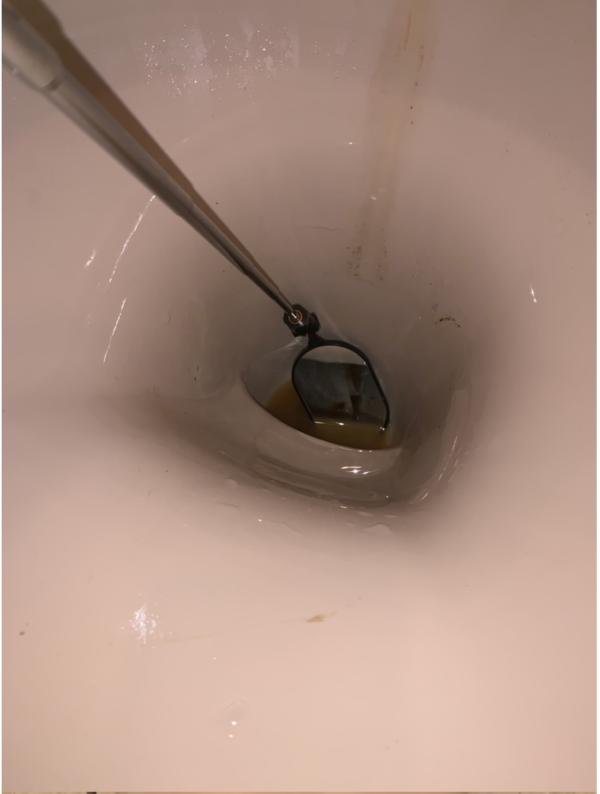 尿取りパッド点検中