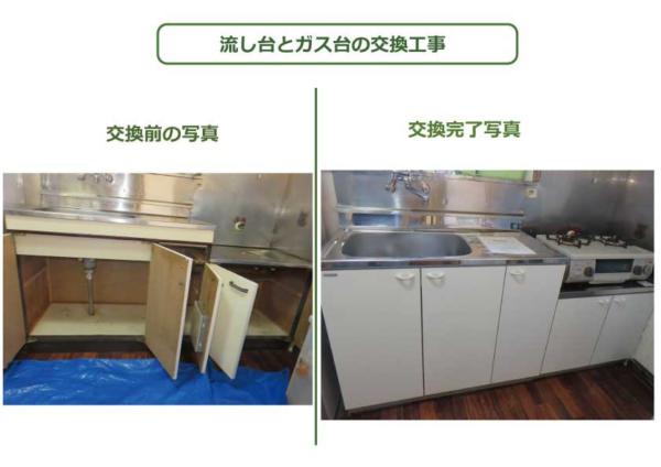 キッチン比較画像