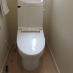 交換前トイレ