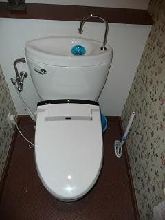 修理前トイレ