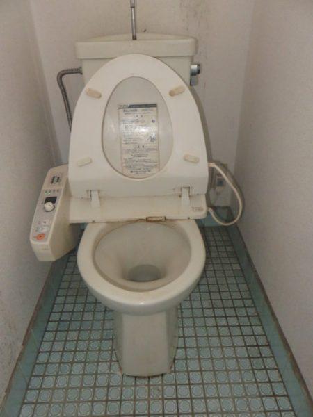 水漏れするトイレの点検