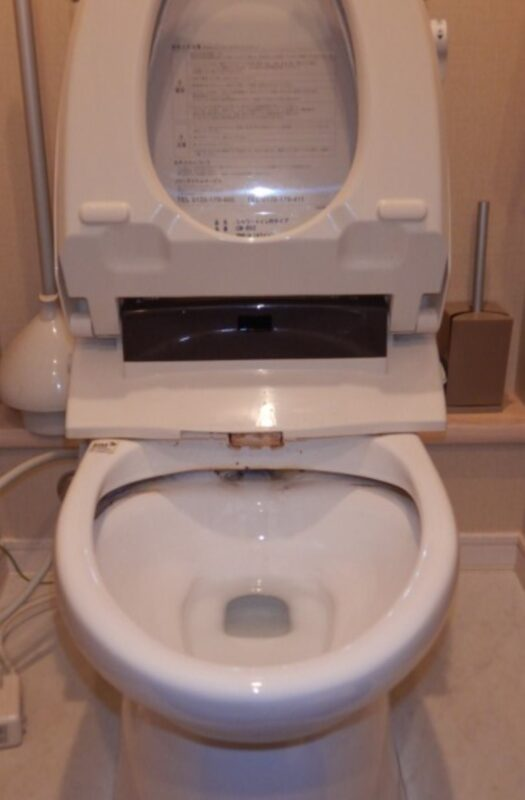 トイレつまり修理前