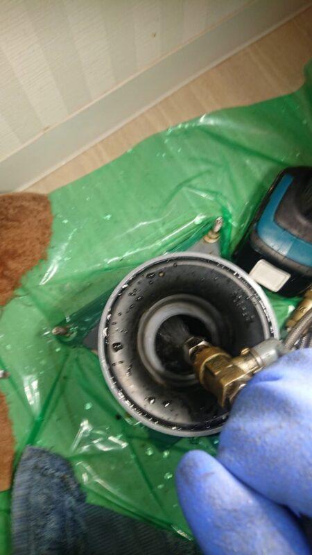 アップ高圧洗浄機集合住宅
